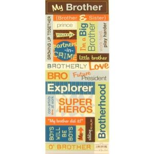My Big Brother Stickers